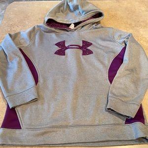 Girls Under Armour hoodie size XL